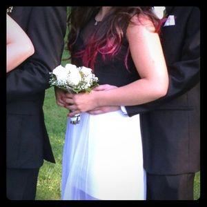 BCBG Runway prom dress . Black and white sz. XS